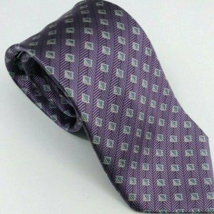 Andrew Fezza  New York Purple Geometric 3.5in W